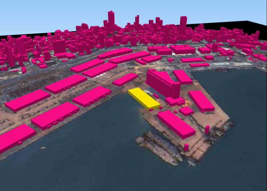 Beyrut Liman Patlaması'ndan en çok etkilenen binaların 2.5D çizimleri Kaynak